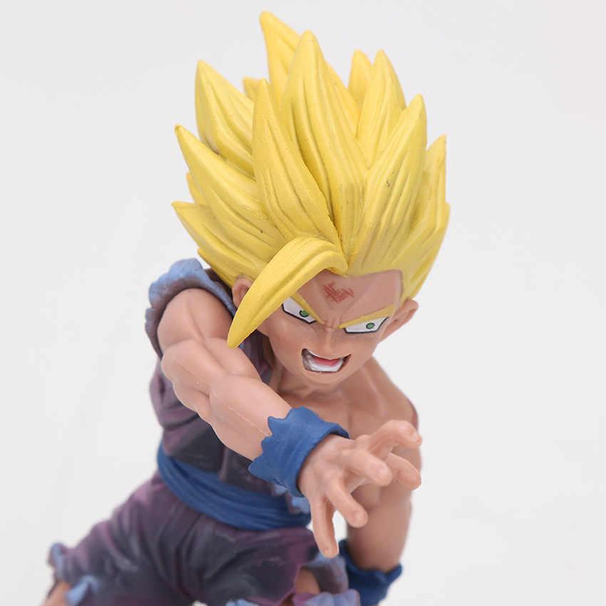 Dragon Ball Z Super Saiyan Goku Son Gohan figura chichi lazuli Estatueta dragonball trunks vegeta freeza figura phone Straps Brinquedos
