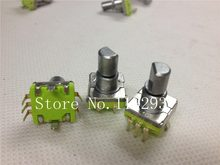 [Bella] Supply Taiwan 360 Pulsa Encoder Coding Switch EC11-30 Bit 12 Mobil Khusus Audio Axis-10 Buah/BANYAK(China)