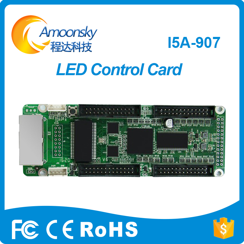 Fullcolor I5a907 Receiver New Design Mini Receiving Card For Full Color Die Casting Cabinet