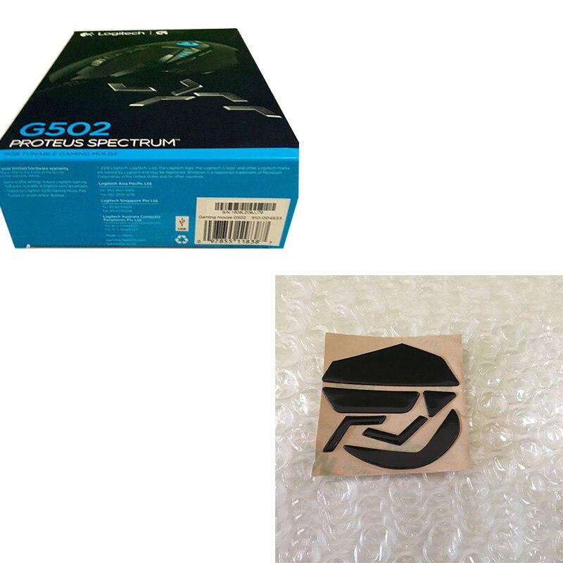 Souris de jeu Logitech G502 Proteus avec pieds de souris Logitech G502