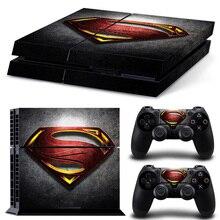 Superman PS4 Skin StickerAnd Controllers Vinyl Decal Sticker