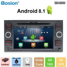 цена на Android 8.1 2Din 8 core7 Inch Car DVD Player For Ford/Mondeo/Focus/Transit/C-MAX/S-MAX/Fiesta GPS Navigation Radio WIFI BT