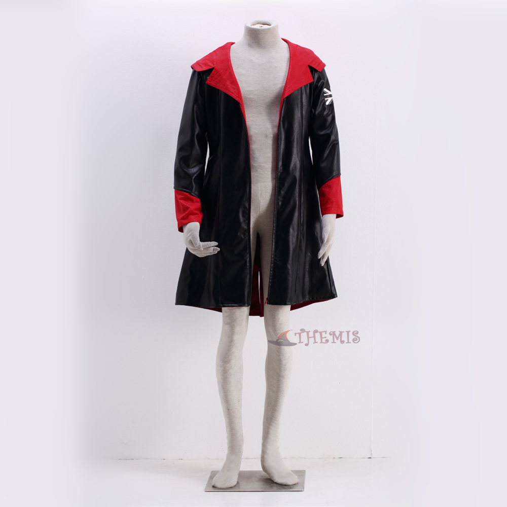 Athemis Anime Devil May Cry Dante Cosplay Costumes Clothes high quality set custom made size
