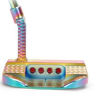 Image 4 - نوادي مضرب الغولف رجالي ملون التصنيع باستخدام الحاسب الآلي 33 34 35 بوصة قبضة اللون اختياري مع غطاء الرأس