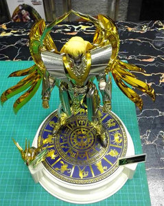 Image 5 - אנוביס Bronzing מהדורה מיוחדת שנים עשר כוכבים בסיס עבור Bandai Saint Seiya דמות & מודל אחר