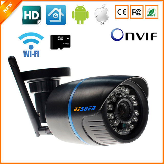 BESDER Yoosee IP Camera Wifi 1080 P 960 P 720 P ONVIF Draadloze Bedrade P2P CCTV Bullet Outdoor Camera Met MiscroSD Kaartslot Max 64G