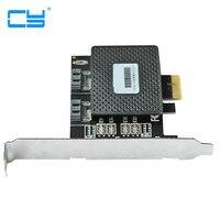 6 Gbps PCIE Pci E PCI Express Para 2 Portas SATA 3 0 Portas De Expansao