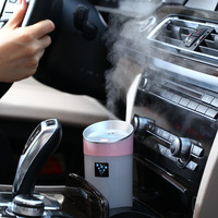 2017 New Car Air Purifier 12V Steam Humidifier Aroma Essential Oil Diffuser Aromatherapy Mist Maker Car