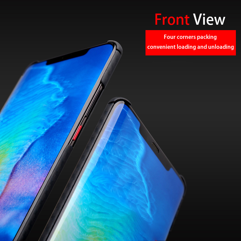 Real Body Armor Material Case for Huawei Mate 20 Pro Cover Slim Minimalist Strongest Durable Aramid