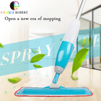 2016 hot sale Spray water Mops Aluminum Rod Microfiber 360 degree Multi-function rotate mop Household Floor Cleaning Tools