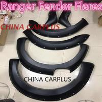 Бесплатная доставка арок ДЛЯ ford RANGER T6 T7 с ногтей с модифицированной колесные диски Круглый дуги бровей специальные украшения
