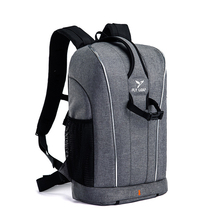 Camera Backpack with Adjustment Length Outdoor Travel Waterproof Nylon Cameras Bags Shockproof Liner for Canon Sony Nikon