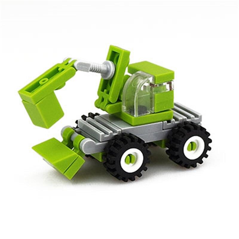 1 Set Bouw Speelgoed Graafmachine Model Building Kits Educatief Speelgoed Hobby Voor Kinderen Kleuterschool Geschenken