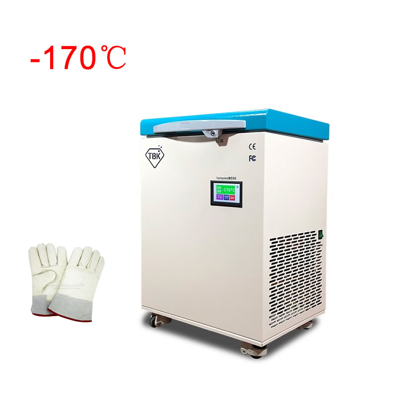 110V 220V LY TBK 578 Mobile Phone edge frozen separaror for LCD touch screen freezing machine minus 170 degree with free gloves