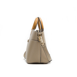 Image 4 - JIANXIU Brand Women Pu Leather Handbag Round Portable Design Tote Bag 2019 Female Shoulder Messenger Bags Double Shoulder Straps