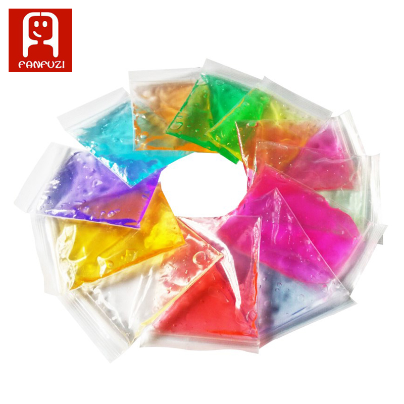 2bags*30g genuine crystal mud play dough Kids Baby Fun Toys Crystal Magnetic Colored Intelligent