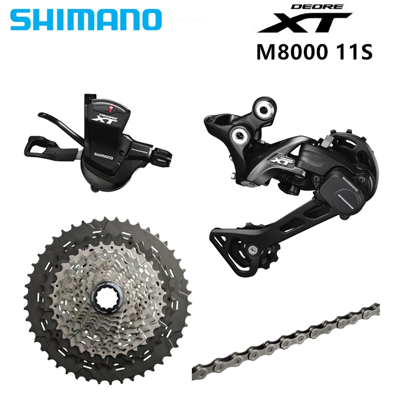 SHIMANO DEORE XT M8000 1x11 11S Speed 11 40T 11 42T 11 46T Groupset Contains Shifter