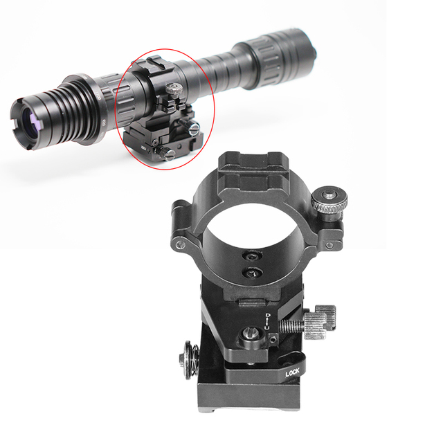 Aluminium Alloy Scope Mount 30mm Gun Accessories ak 47 Down/up&Left/right Adjustable Picatinny Rail Riflescope Mount Rings