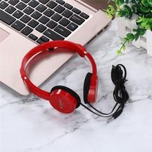 Kubite Kids Wired Big Headphones On Ear Foldable Stereo 3.5m