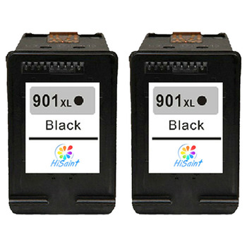 [Hisaint] Black For HP901 Ink Cartridges for HP 901XL Officejet J4500 J4580 Officejet J4640 Printer Officejet J4680 Printer Ink фото