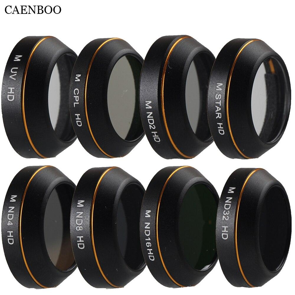 Caenboo lente filtro protector UV CPL estrella densidad neutral ND2 4 8 16 32 filtro drone para DJI Mavic pro profesional Accesorios