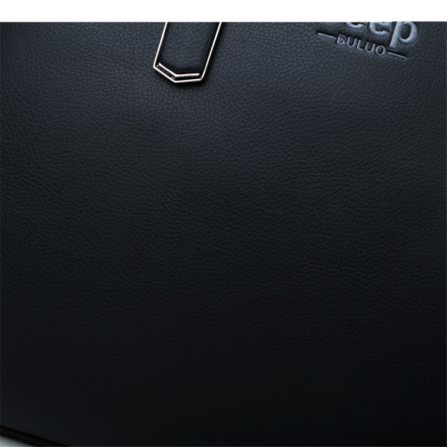 HTB1YdEQeEuF3KVjSZK9q6zVtXXaY JEEP BULUO Men Leather Briefcase Bag Business Famous Brand Shoulder Messenger Bags Office Handbag 14 inch Laptop High Quality