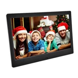 10-дюймовый светодиодный экран с подсветкой HD 1024*600 цифровая фоторамка электронный альбом для фотографий музыкальный фильм с пультом дистан...