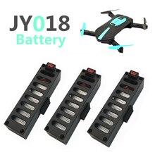 Зарядное устройство Батарея комплекты for3.7V 600 мАч 25C Lipo Батарея часть usb Зарядное устройство Quodcopter Дрон для JY 018 Радиоуправляемый Дрон VS 600mA