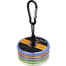 Фотография Tippet Fly Line 2 3 4 5 6X Nylon Clear 55yds/50m Fly Fishing Tippet Line with Copper Tippet Holder