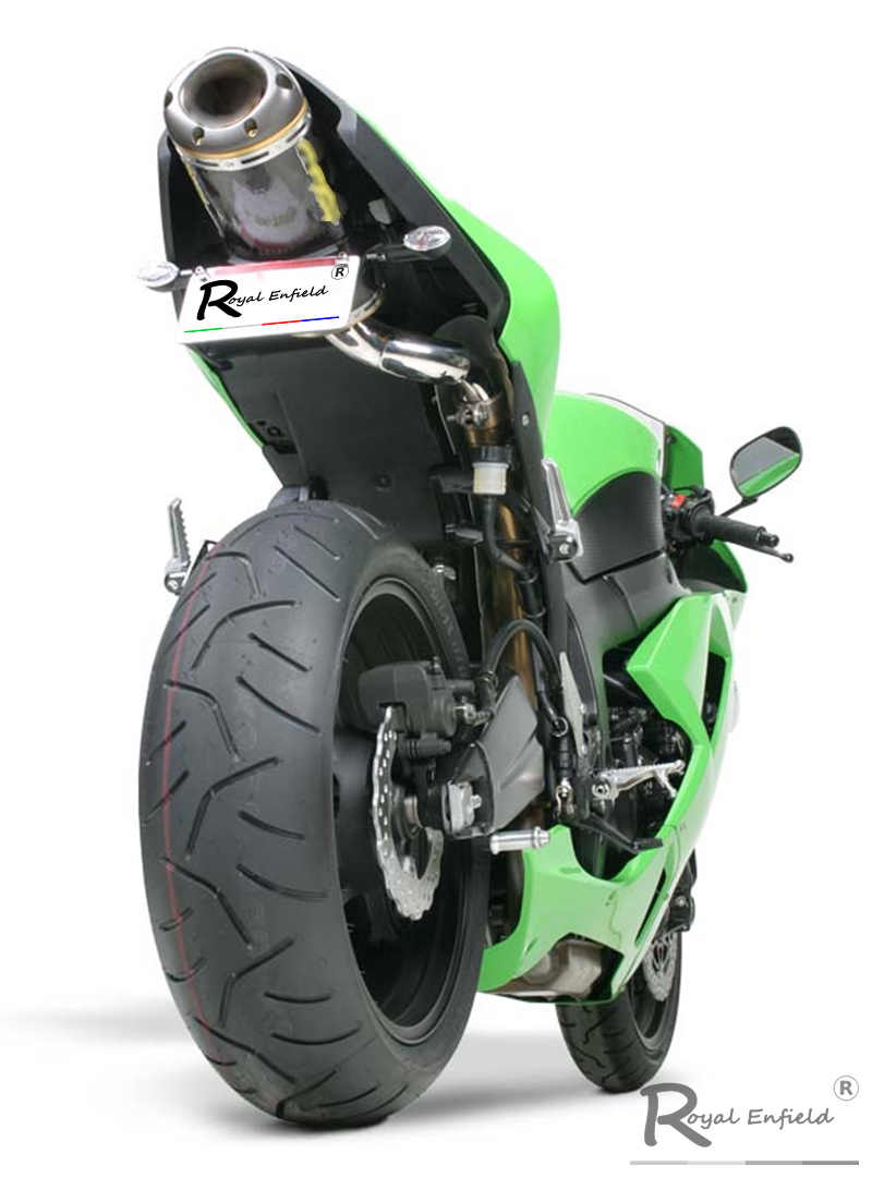 zx6r zx636 motorcycle exhaust carbon