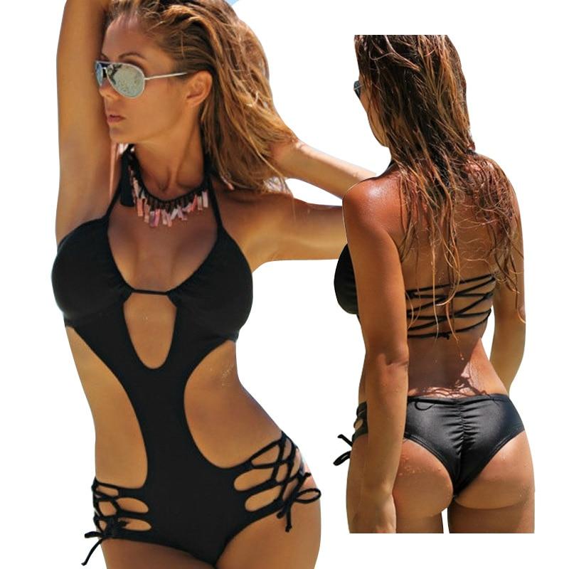 ضمادة ملابس السباحة النساء المايوه monokini trikini قطعة واحدة المايوه السباحة مايوه دي باين une قطعة