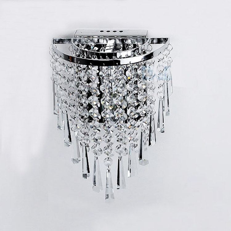 Modern crystal chandelier wall light lighting fixture 220v e14 led modern crystal chandelier wall light lighting fixture 220v e14 led ceiling lamps in emergency lights from lights lighting on aliexpress alibaba mozeypictures Images