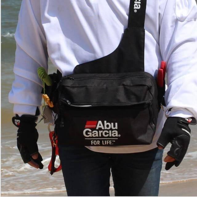 Camo Fishing Waist Tackle Bag Waterproof Waist Shoulder Reel Lure Fanny Bag Pack