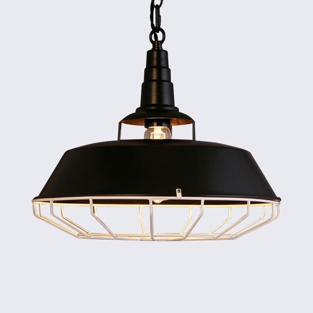 Única cabeça de ferro pote D5069 Droplight Nordic Loft2 restaurante Bar Droplight país da américa indústria antiga estilo luminária