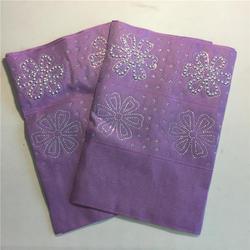 Hoge kwaliteit fashion nigeriaanse zachte liac aso oke gele headtie borduren met kralen stenen wraps stof 2 stuk/set voor vrouwen