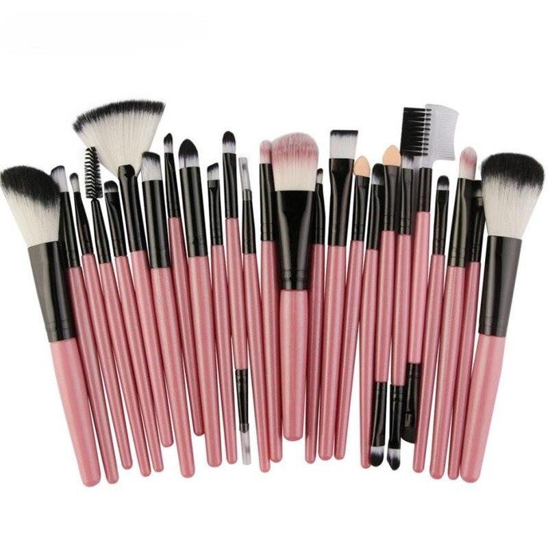 20PCS/25PCS Cosmetic Makeup Brush Blusher Eye Shadow Brushes Set Kit  X10252 new makeup brush set cosmetic eye shadow