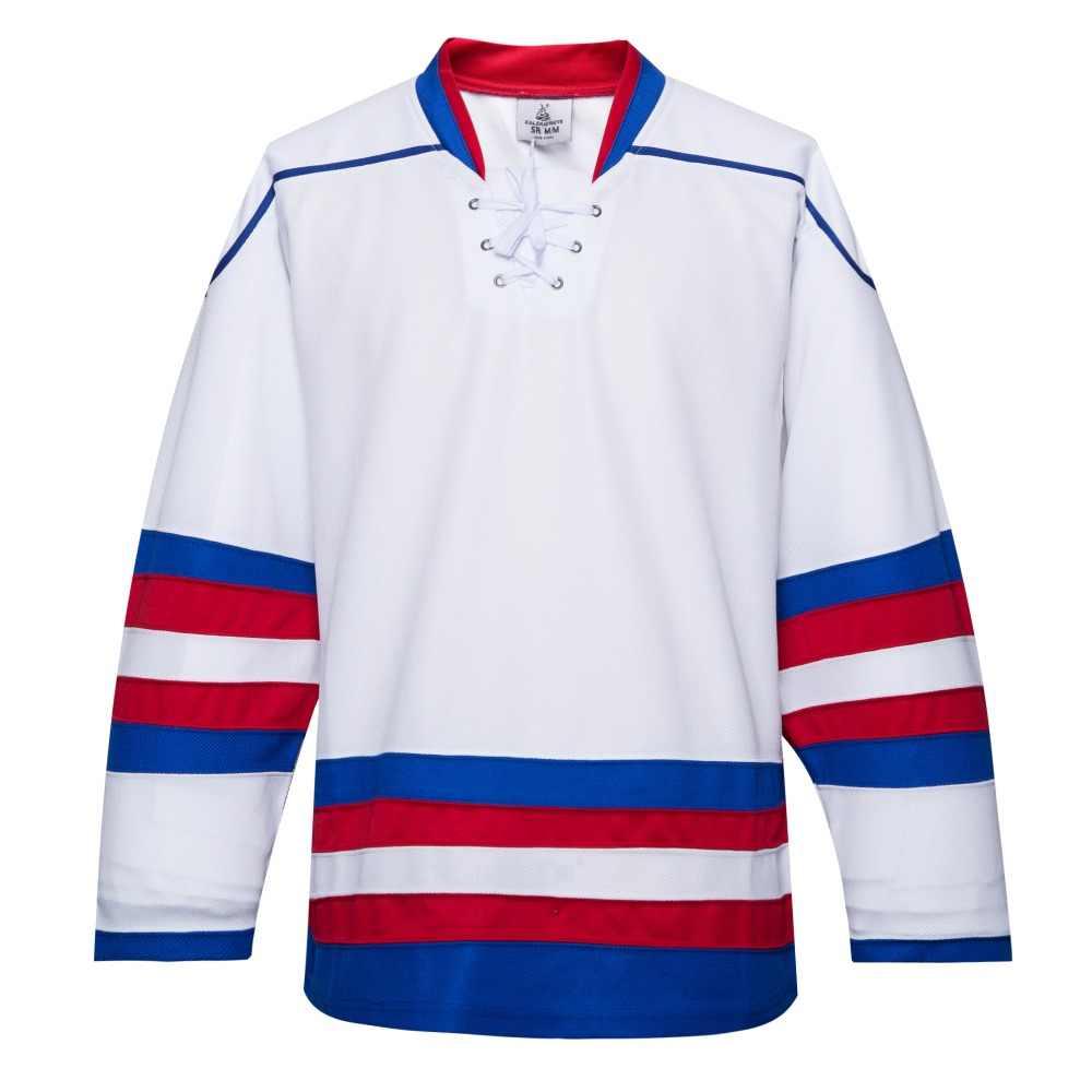 Coldоткрытый Бесплатная доставка Дешевые дышащие пустой тренировочный костюм хоккейный свитер в наличии индивидуальные E035