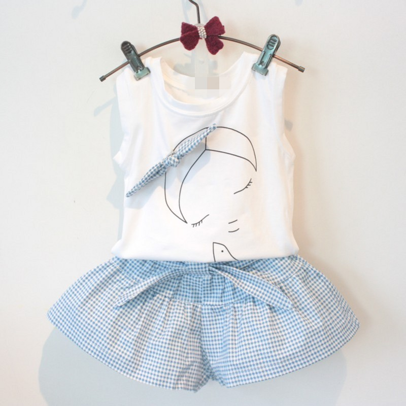 2016-baby-summer-girl-clothing-Sets-fashion-Cotton-Cartoon-Sleeveless-T-shirt-Tanktop-Vest-Skirts-Shorts-girls-clothes-suits-2