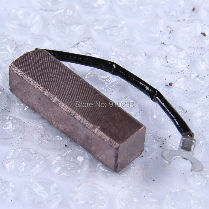 Image 3 - Escova de carbono de cobre misturada 12*12*32mm escova de carbono de alta qualidadecopper carbon brushesbrush brushbrush carbon -