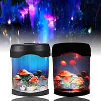 Colorful Beautiful Aquarium Night Light Durable Home Decoration Simulation Jellyfish LED Lamp 17.5CM*9.5CM*22CM