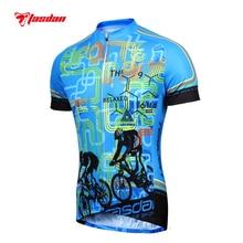 Tasdan Custom Men's Cycling Apparel Sports Shirt Outdoor Mountain Bike Cycling Jerseys