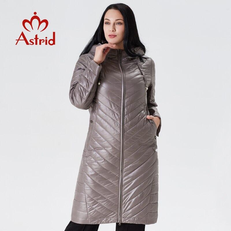 2019 Winter Female jacket long Cotton women big coat Hooded Slim fit Outwear Parka manteau femme