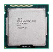 Оригинал G530 Процессор Celeron G530 2 М Кэш, 2.40 ГГц LGA 1155 TDP 65 Вт рабочего ПРОЦЕССОРА