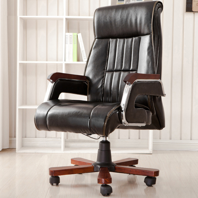 Sumptuous Comfortable Boss Chair Lifted Rotation Office Chair High Back Reclining Swivel Chair Multifunction Computer Chair Soft