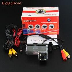 BigBigRoad widok z tyłu samochodu Backup kamera parkowania dla Nissan Patrol Safari Y61 noktowizor wodoodporny|Kamery pojazdowe|Samochody i motocykle -