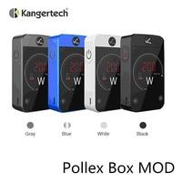 Kanger Kangertech Pollex Box MOD Vape 200w Mod for Electronic Cigarette Kit 510 thread massive 2.4 inch touch screen