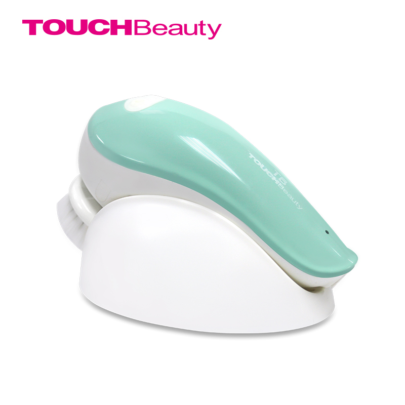 ФОТО TOUCHBeauty electric rotating face cleansing brush for Oily skin, 360 Clockwise and count-Clockwise face brush TB-1282A(new)