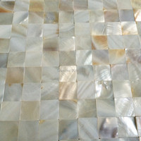 Natural white Pearl Oyster Shell Mosaic for bathroom Kitchen Wall shell Backsplash Sea Shell Mosaic Tile Manufacturer
