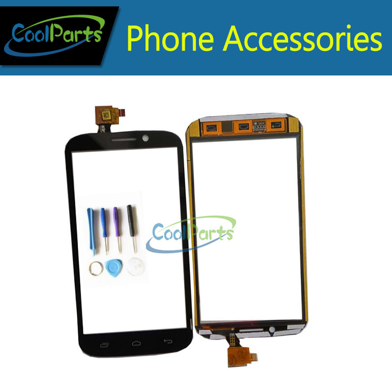1PC/Lot High Quality 5.3inch For DNS S5301Q Touch Screen Digitizer Touch Panel Glass Replacement Part+Tool Black White Color