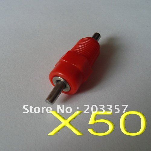 X50 screw red poultry chicken bird quial nipple drinker waterer ball seal